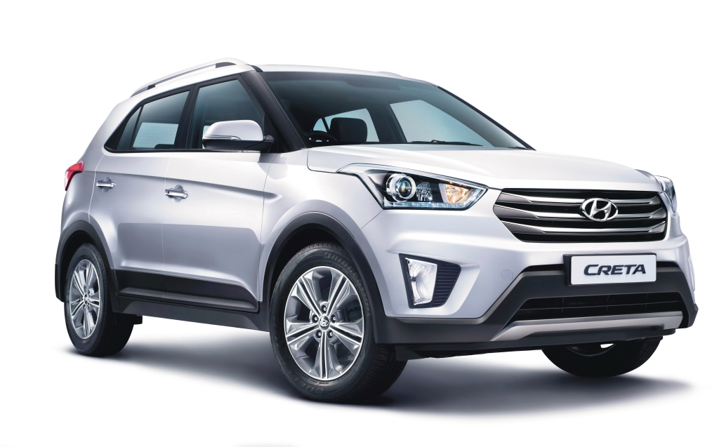 Perfect SUV 'Hyundai CRETA' Records over 1 Lakh Bookings