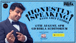 Crack Up Fiesta Honestly Speaking with Amit Tandon | Kolkata @ G.D. Birla Sabhagar | Kolkata | West Bengal | India